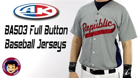 athletic knit baseball jerseys athletic knit ba503 button baseball jerseys