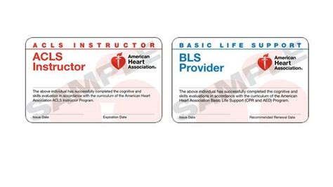 pals provider card template course completion cards