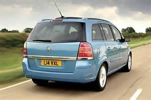 Vauxhall Mpv Vauxhall Zafira Mpv Pictures Carbuyer