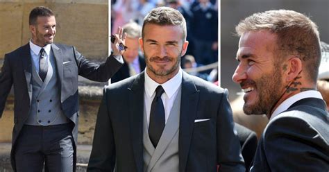 David Beckham Is Prince Charming by David Beckham Nearly Steals The Show At Royal Wedding In
