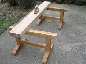 Free Wood Bench Seat Plans by International Workbench Week Popular Woodworking Magazine