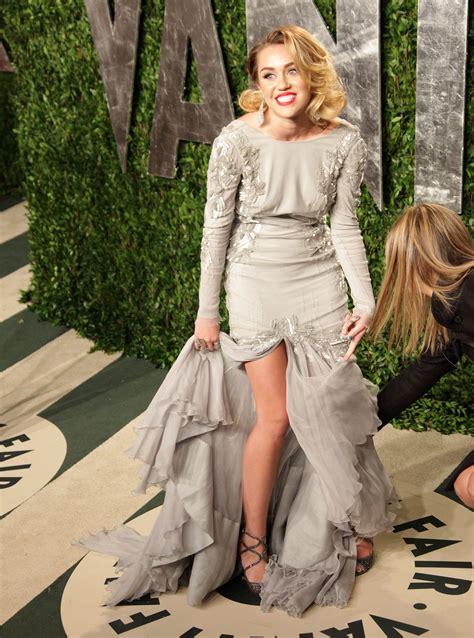 Miley Cyrus Vanity Fair Photo Shoot by Miley Cyrus 2012 Vanity Fair Oscar Hosted By Graydon Photo 25 Photo