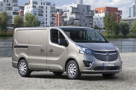 opel van all new opel vivaro van goes on sale in europe autoevolution