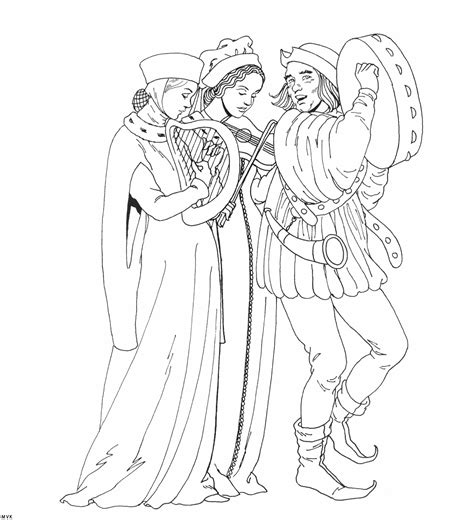catapult middle ages coloring page coloring pages