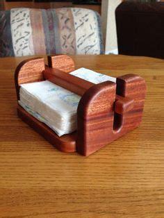 napkin holder   mahogany diy projects