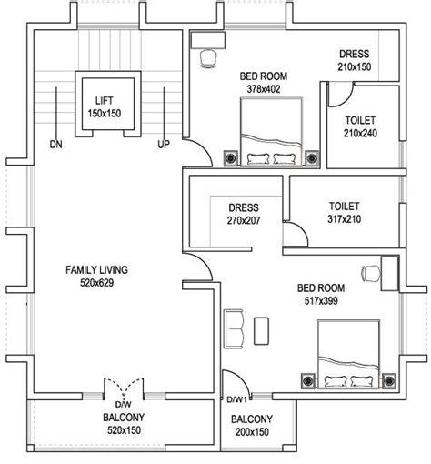 anses dibujo tecnico planos casa 4 habitaciones dos pisos cad