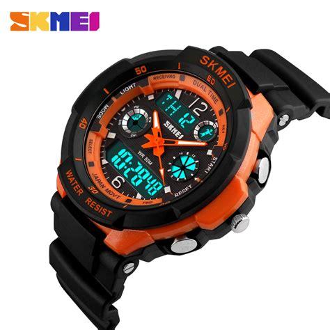 Led Sport Watches Aa W027 s kid s wrist sport quartz 50m g led digital stopwatch shock ebay