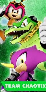 sonic heroes  team chaotix poster image mod db