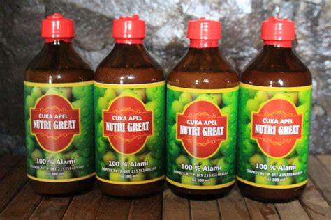Suplier Cuka Apel Nutri Great tempat beli cuka apel di apotik di sini aja d spirit