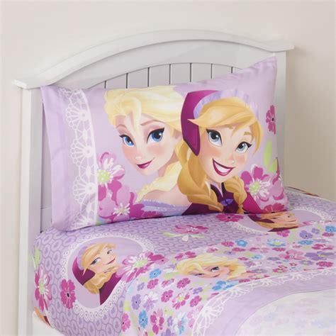 elsa bed disney frozen girl s 3 piece bedsheet set anna elsa