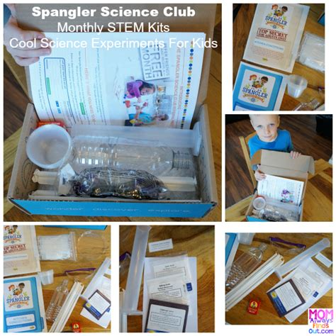 Experiments With Kitchen Items Cool Science Experiments For Monthly Subscription