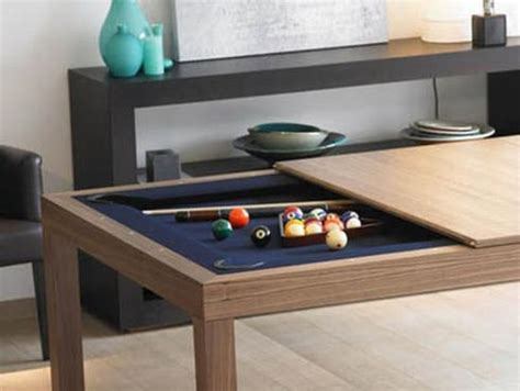 pool table disguised as dining room table freshome
