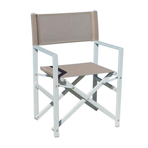 sedia regista alluminio giardino arredo giardino italia