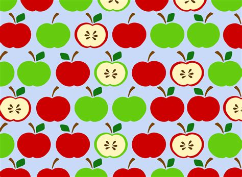 pattern apple background clipart apples pattern blue