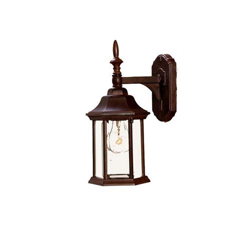 Craftsman Outdoor Light Fixtures by Acclaim Lighting Wexford Collection 1 Light Matte Black Outdoor Wall Mount Light Fixture 5010bk