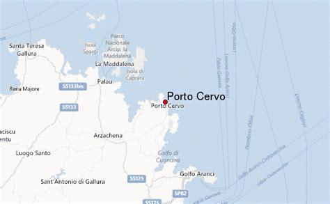 porto cervo mappa guide urbain de porto cervo