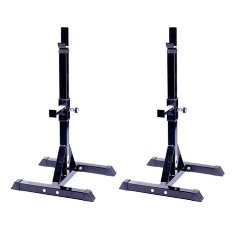 Rack Stand by Squat Rack Pair