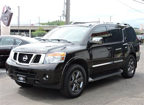 black nissan armada used 2013 nissan armada platinum at auto house usa saugus
