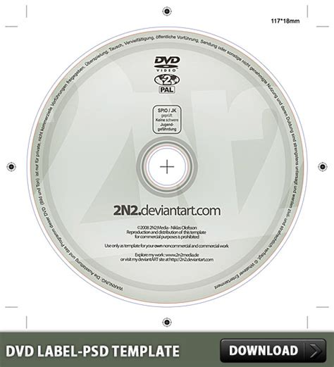 dvd disc label template free dvd label free psd template at downloadpsd