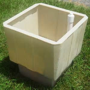 24 Inch Planter Pots Self Watering Square Planter 24 Inch Planter