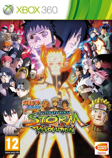 Ultimate Revolution shippuden ultimate story revolut pc box