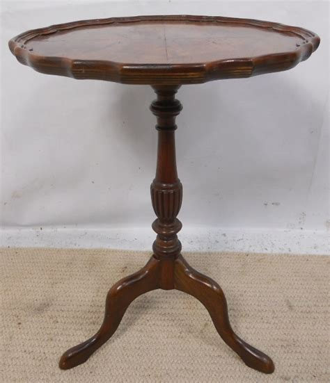 Small Pedestal Table small pedestal shaped top mahogany wine table