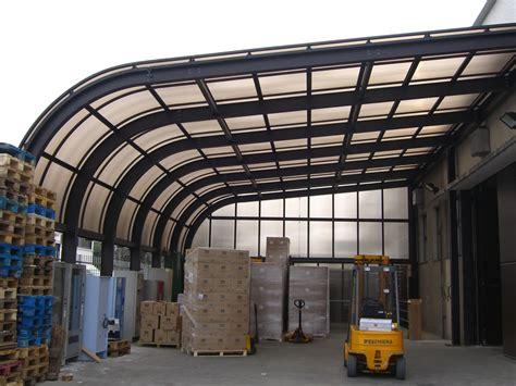 tettoie metalliche tettoie industriali e commerciali tettoie e pensiline