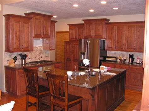 l shaped kitchen island for the home