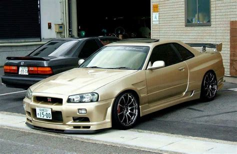 stanced nissan skyline stanced skyline r34 imgkid com the image kid has it