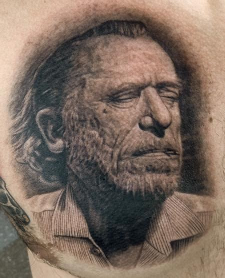 charles bukowski tattoo charles bukowski by pepper tattoos