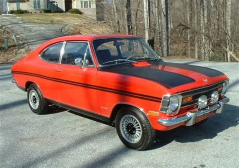 Opel Kadett Rallye For Sale 18 Again Restored 1969 Opel Kadett Rallye Bring A Trailer