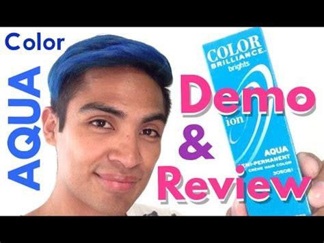 ion color brilliance aqua revisi 243 n y prueba tinte ion color brilliance quot aqua quot