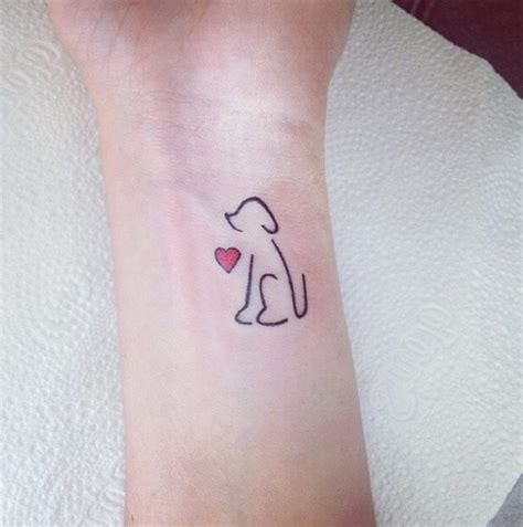 simple dog tattoo designs 25 your best 2018 options of simple design with