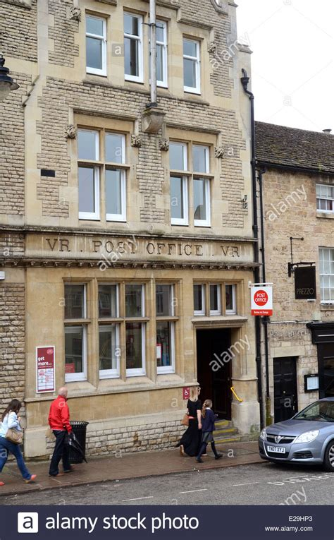 Stamford Post Office by The Post Office Stamford Lincolnshire Stock Photo