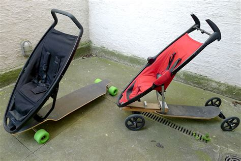 designboom quinny longboard stroller an experiment in urban mobility
