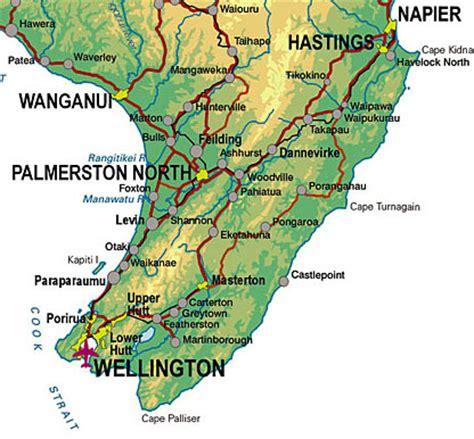 printable road map north island new zealand dannevirke net nz