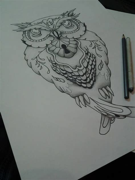 owl tattoos pinterest owl design flash owl