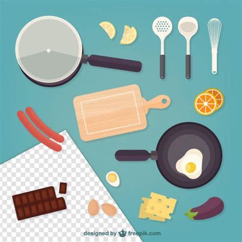 imagenes vectores cocina comida y elementos de cocina descargar vectores gratis