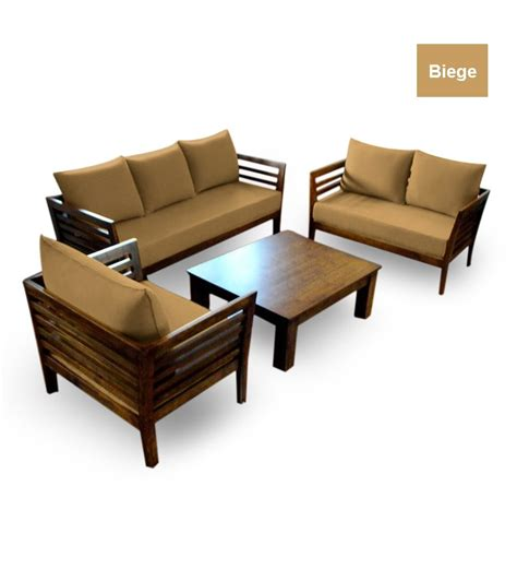 wooden furniture sofa set design wooden sofa set 3 2 1 seater coffee table by furny