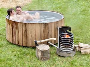 Outdoor Bathtub Wood Fired by Wood Fired Tubs In 32 Styles From 75 And Up Living The Grid Ideas For Our Home