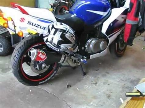 Suzuki Gs500f Exhaust Gs500f K7 Yoshi Pipe Install How To Save Money And Do It