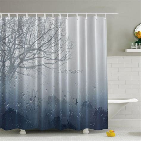 waterproof fabric shower curtain fashion waterproof fabric bath shower curtain bathroom