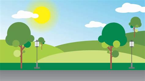 corel draw printable area landscape how to draw simple scenery with corel draw youtube