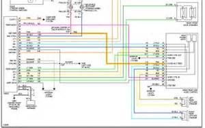 radio wiring diagram electrical problem 2000 chevy venture 6 cyl