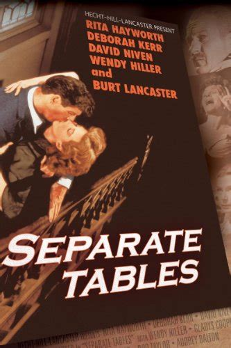 Separate Tables Cast by Separate Tables Cast And Crew Tvguide