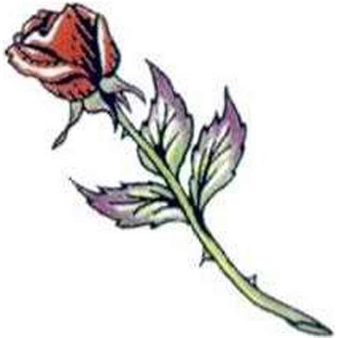long stem rose tattoo temporary stem tattoos goimprints