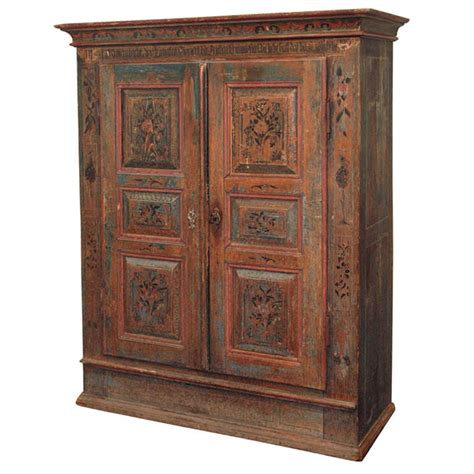 a painted european armoire at 1stdibs