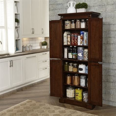 pantry style kitchen cabinets kitchen pantry in cherry 5005 69
