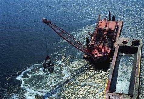 boat transport alabama ocean disposal of dredged material ocean dumping