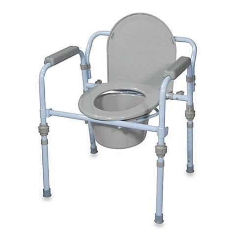 Folding Steel Commode by Buy Drive Steel Portable Folding Commode From Bed